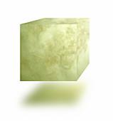 Poisonous gas cube, illustration