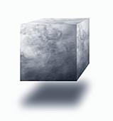 Vapour cube, illustration