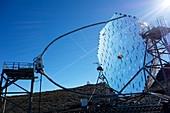 MAGIC telescope, La Palma