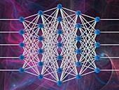 Artificial neural network, illustration