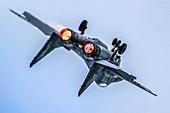 Polish Air Force MiG-29 in flight