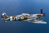 Supermarine Spitfire in flight