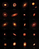 Protoplanetary discs imaged by ALMA