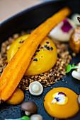 Sous vide egg yolk