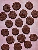 Vegane Schokoladenplätzchen