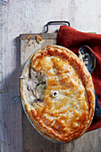 Chicken cider pie