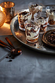 Chocolate espresso shots