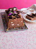 Chocolate Amaretto terrine