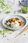 Mangold-Kimchi mit Mozzarella