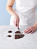 Making chocolate waves