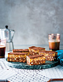 Croatian nutty biscuit bars