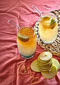 Ginger-beer cocktail