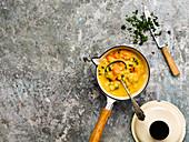 Split pea soup with hamoup