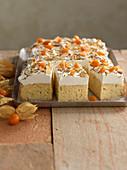 Milk-and-honey cake