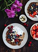 Chocolate Porridge With SummerFruits