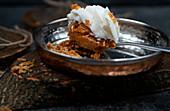 Pumpkin Pie mit Sahne