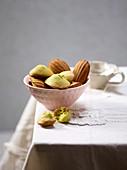 Pea madeleines