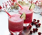 Pucker Up Drink mit Wodka und Cranberrysaft