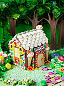 'The magic forest house' cake