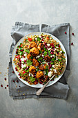Turkey mince meatballs with couscous, chipotle chilli, smoked paprika and garlic