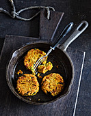 Ayurvedic red lentil patties