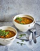Ayurvedic mung bean soup