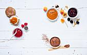 Sweet spreads (sugar-free)