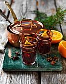 Spiced winter wine