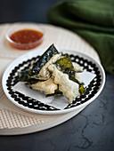 Nori seaweed Tempura