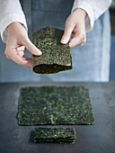 Nori leaves