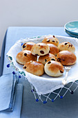 Pan di ramerino (rosemary and raisin rolls, Italy)