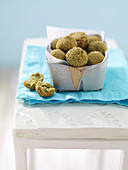 Spicy falafel made from fried fava beans