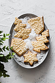 Various christmas cookies