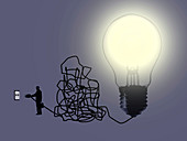 Innovation, conceptual illustration