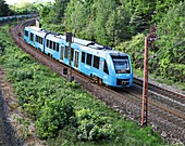 Hydrogen fuel-cell powered train, Germany