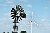 Old and new wind power technology