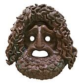 Ancient Greek tragic mask