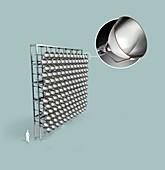 Synlight solar research facility, illustration