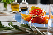 Jemista - stuffed peppers and tomatoes with rice (Greece)