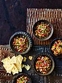 Bhel Puri (Snack aus Indien)