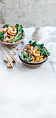 Prawn, Broccolini and Peanut Dan Dan Noodles