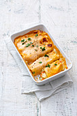 Cannelloni with vegetables