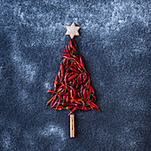 Chili Christmas Tree