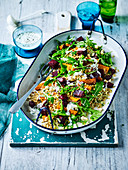 Roast Pumpkin and Beetroot Salad