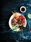 Steak bulgogi bowl