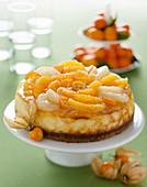 Festlicher Zitrus-Cheesecake