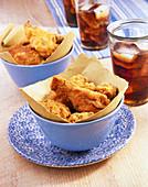 Fried chicken (Gebackene Hähnchenteile, USA)