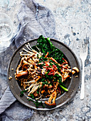Mixed Mushroom and Cavolo Nero Buckwheat Risotto