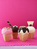 Ice-Cream Cake Cones
