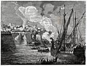 Siege of Constantinople, illustration